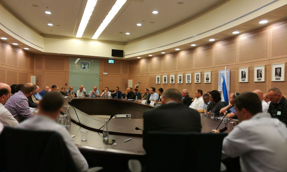 Foreign Affairs and Defense Committee, Knesset 2018