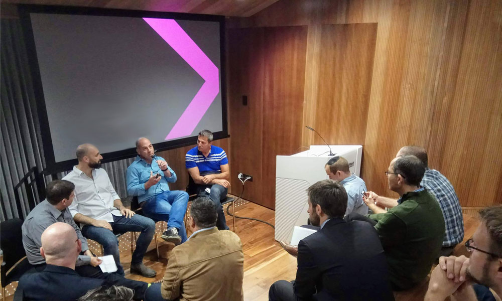 Investors Panel in Cyber Together Community Event, 2018